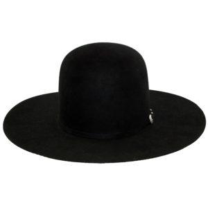 Greeley Hat Work Custom Pure Beaver Black