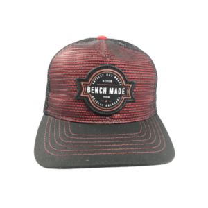 Greeley Hat Works Benchmade Red Black Cap