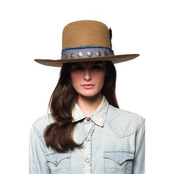 Greeley Hat Works Double D Ranch Buffalo Joe French Tan
