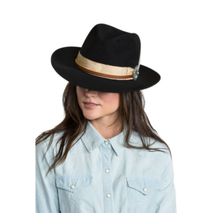 Greeley Hat Works Double D Ranch Django Black