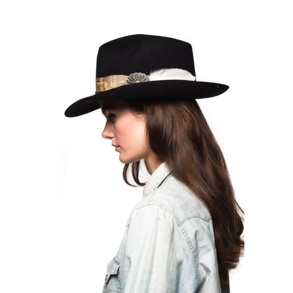 Greeley Hat Works Double D Ranch Django Black
