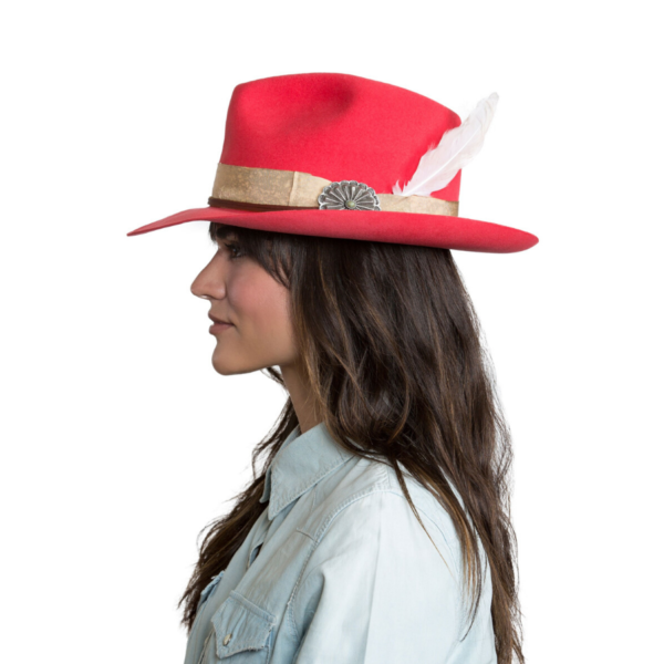 Greeley Hat Works Double D Ranch Django Pink