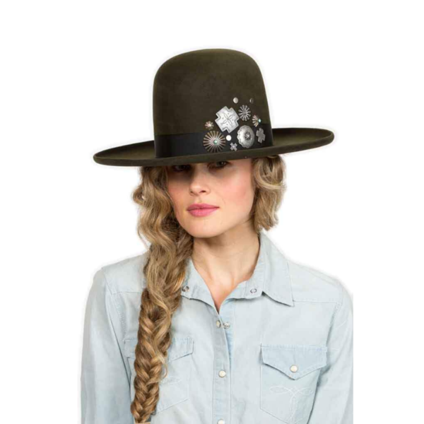 Greeley Hat Works Double D Ranch Old Pawn Dark Moss
